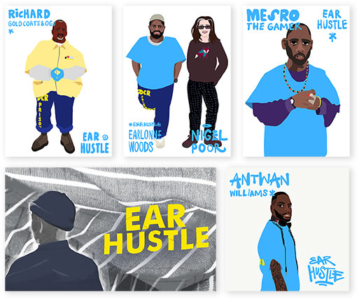 Ear Hustle Kite Pack