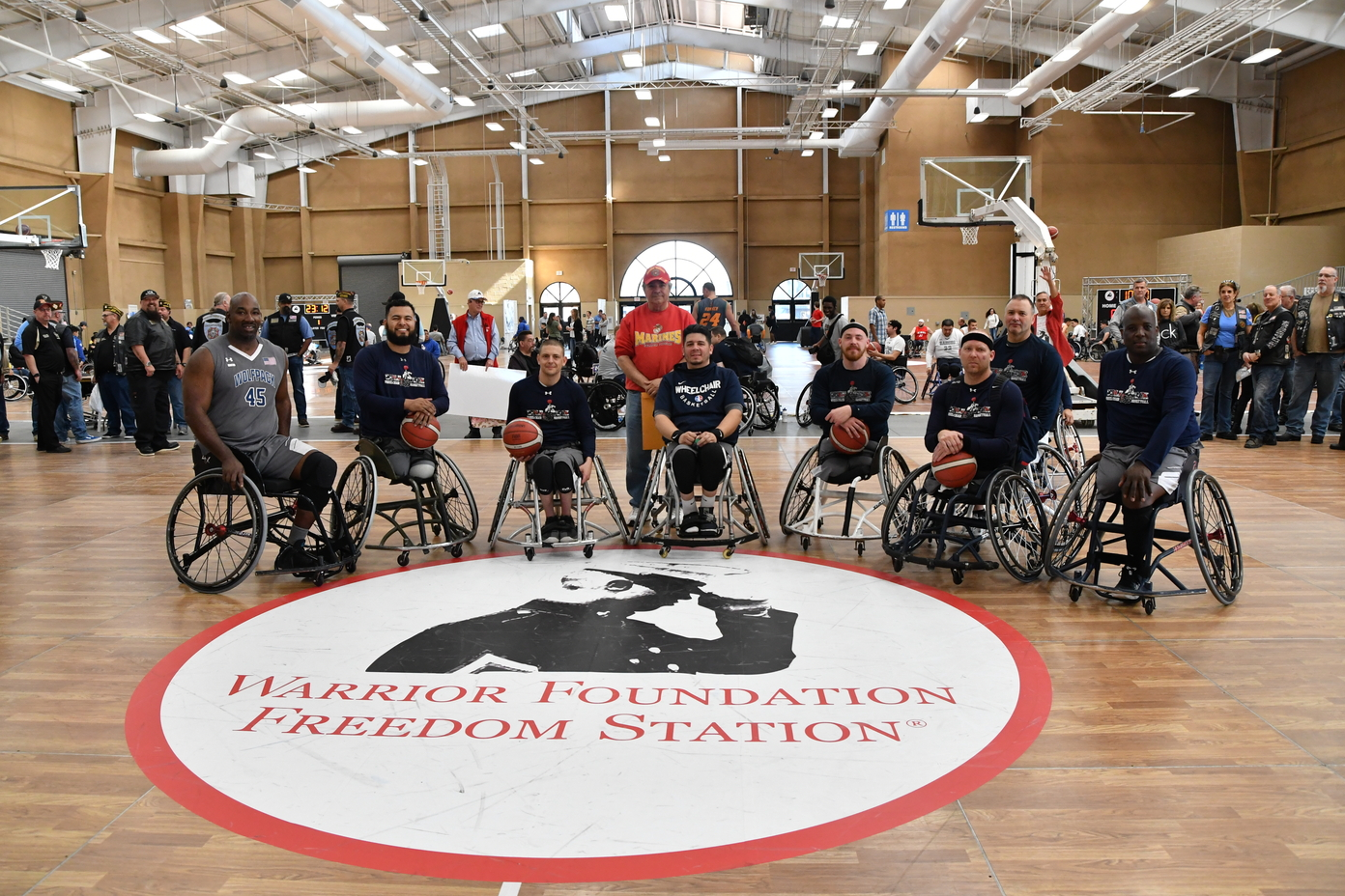 Wolfpack Wheelchair Basketball Team