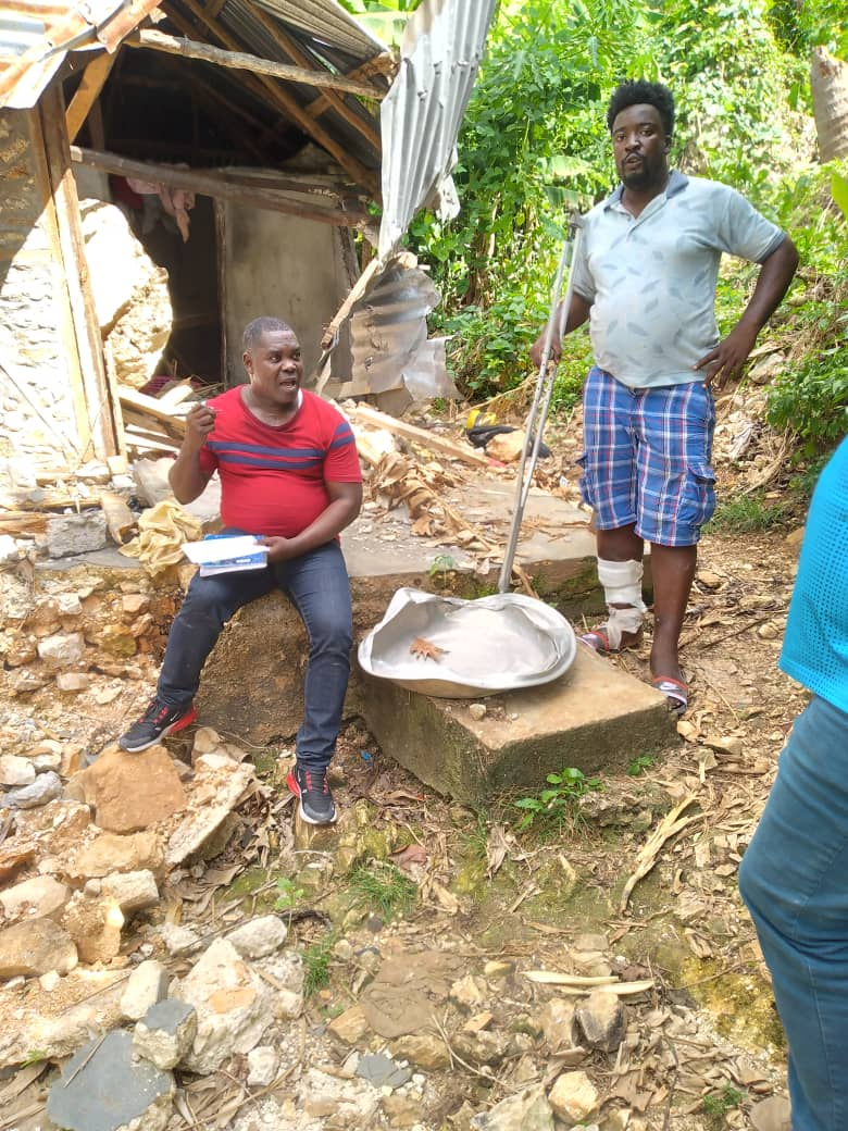 Identifying households for reconstruction